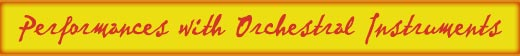 Orchestral performance header